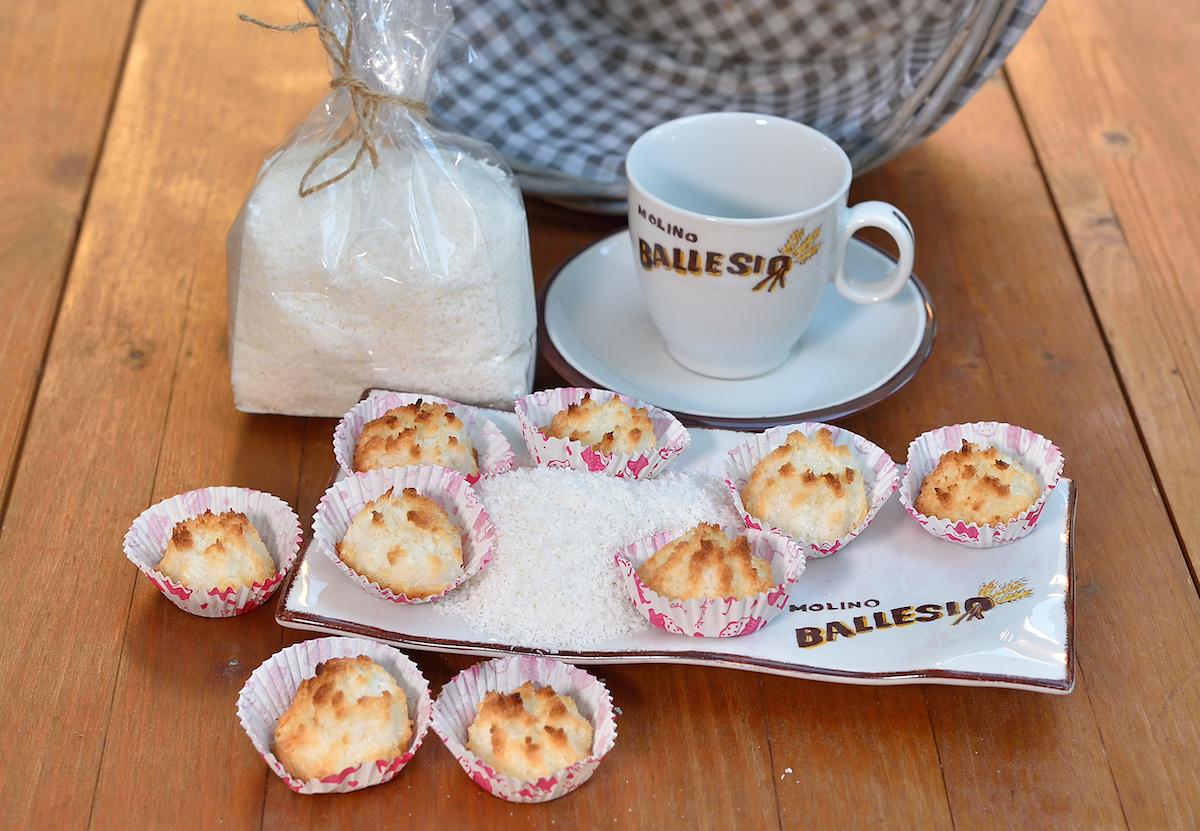 dolcetti al cocco Molino Ballesio Torino