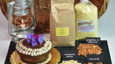 parrozzo dolce ricoperto al cioccolato ricetta Molino Ballesio