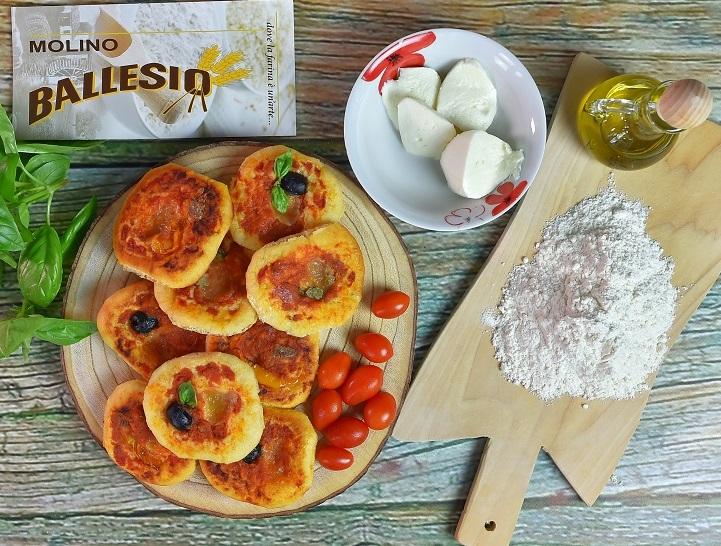 ricetta pizzette al pomodoro del Mulino Ballesio
