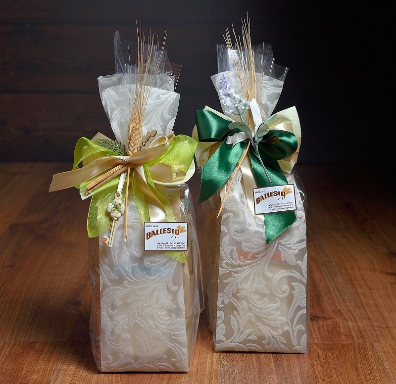 idea regalo con farine del mulino Ballesio Torino