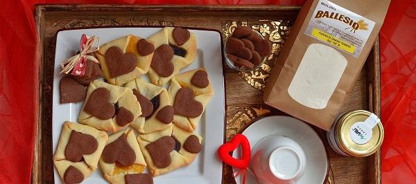 Biscotti di San Valentino: Lettera d'Amore